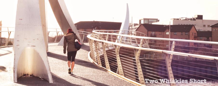Tradeston Bridge // photograph by Calum McMillan