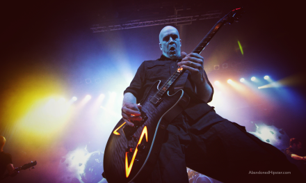 Devin Townsend // photograph by Calum McMillan