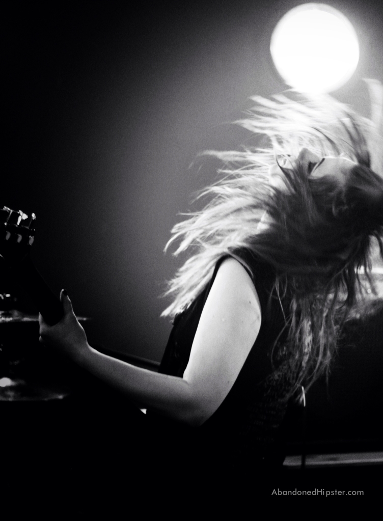 Heather McKay of The Amorettes // photograph by Calum McMillan