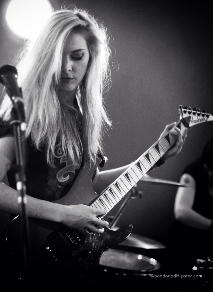 Gill Montgomery of The Amorettes // photograph by Calum McMillan