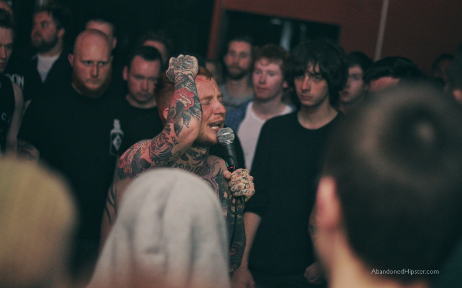 Frank Carter & The Rattlesnakes // photograph by Calum McMillan