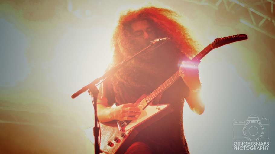 Coheed & Cambria // photograph by Calum McMillan