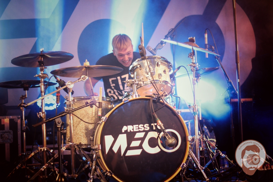 Press To Meco prove that pop isn't synonymous with dull @ Hevy fest 2015