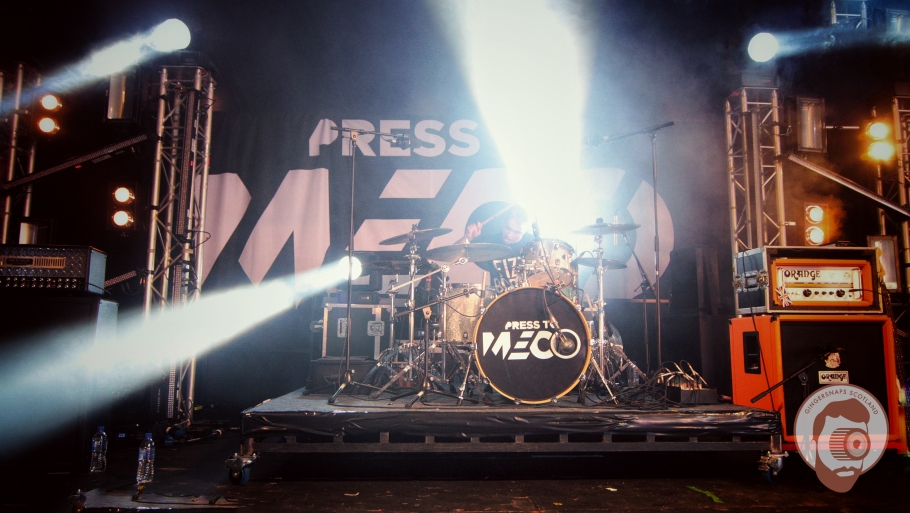 Press to Meco // photograph by Calum McMillan