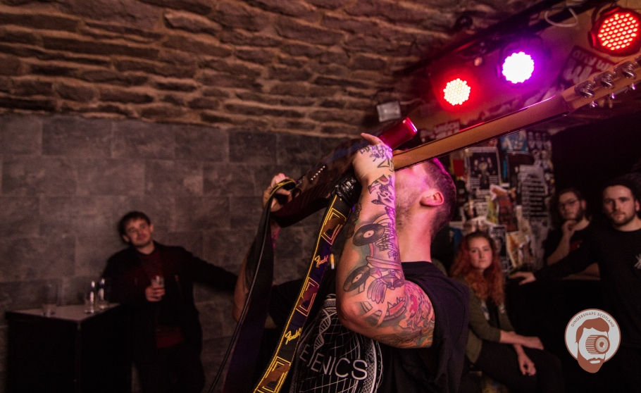 Swallows @ Bannerman's, Edinburgh // photograph by Calum McMillan